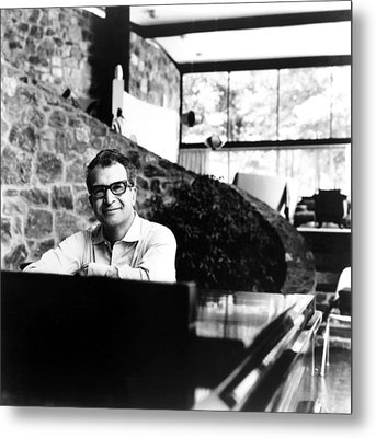 Dave Brubeck, 1960s Metal Print by Everett