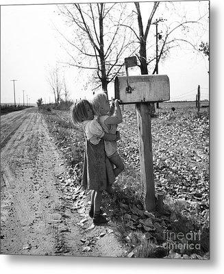 Depression Era Rural America Metal Print by Photo Researchers