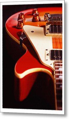 Electric Guitar I Metal Print