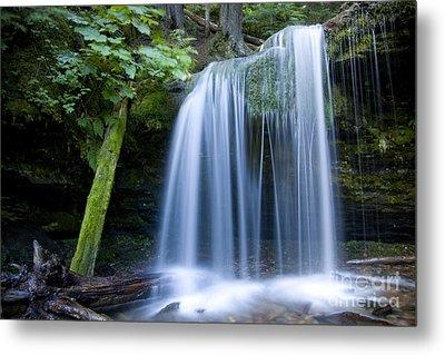 Fern Falls Metal Print by Idaho Scenic Images Linda Lantzy
