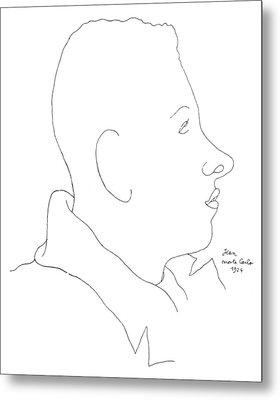 Francis Poulenc (1899-1963) Metal Print by Granger