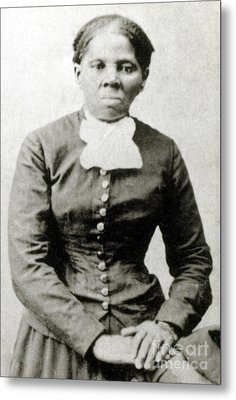 Harriet Tubman American Abolitionist Metal Print by Photo Researchers