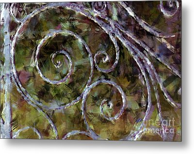 Iron Gate Metal Print