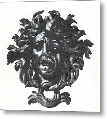 Medusa Head Metal Print by Photo Researchers