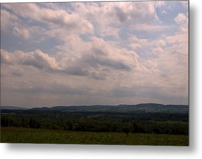 Metal Print featuring the photograph Mohawk Valley by Steven Richman