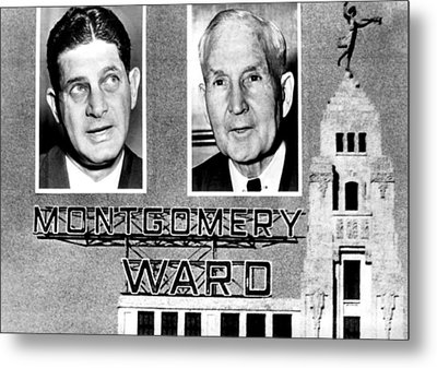 Montgomery Ward And Company, Chicago Metal Print by Everett
