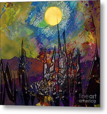 Moonlight Magic Metal Print
