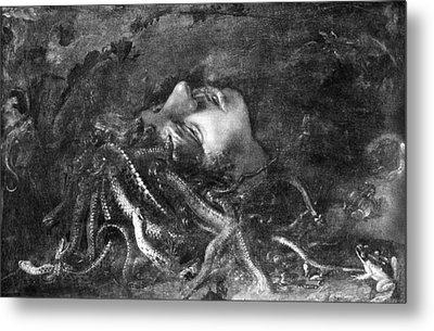 Mythology: Medusa Metal Print by Granger