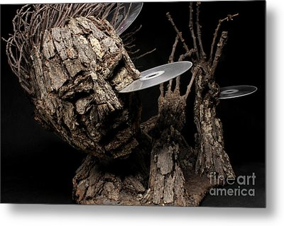 Net Damage Metal Print by Adam Long