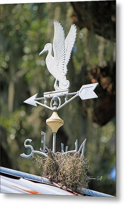 North South East Or West Metal Print by Suzanne Gaff