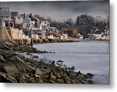 Ocean Grove Metal Print by Robin-Lee Vieira