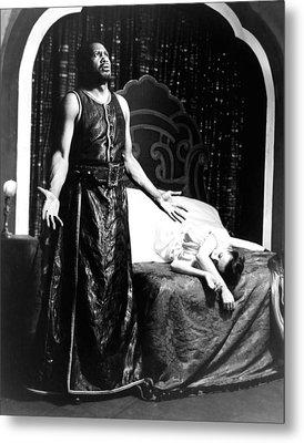 Othello, Uta Hagen As Desdemona, Paul Metal Print by Everett