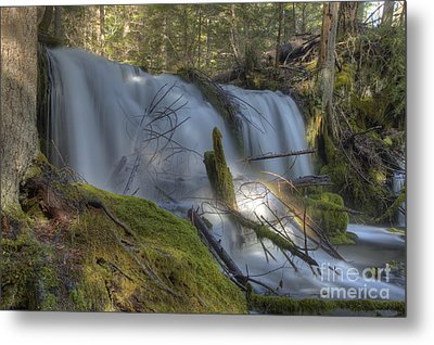 Pearsoney Falls Metal Print by Jim Adams