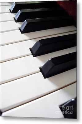 Piano Keys Metal Print by Carlos Caetano