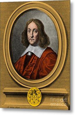 Pierre De Fermat, French Mathematician Metal Print by Photo Researchers, Inc.