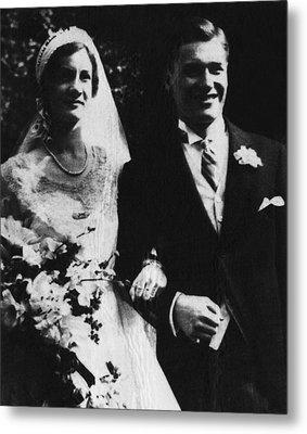 Rockefeller Family. Mary Clark Metal Print by Everett