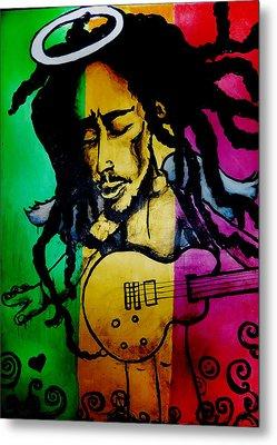 Saint Marley Metal Print by Asa Charles