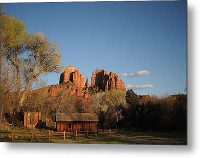 Sedona 014 Metal Print by Earl Bowser