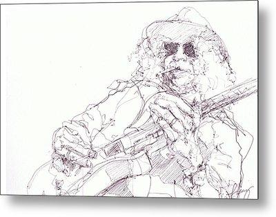 Slash Metal Print by Bobby LeVangie