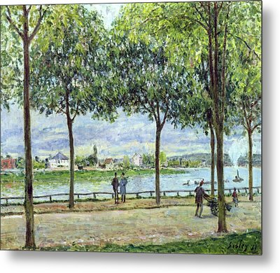 The Avenue Of Chestnut Trees Metal Print