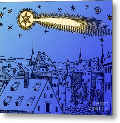 The Great Comet Of 1556 Metal Print by Science Source