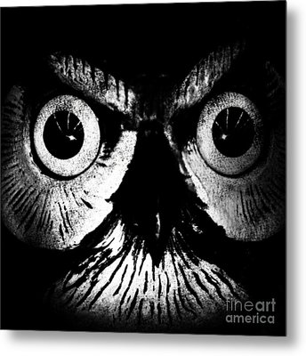 The Watcher Metal Print by Jayme X