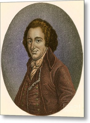 Thomas Paine, American Patriot Metal Print by Photo Researchers