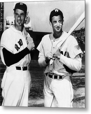 Top Sluggers. Ted Williams Metal Print by Everett