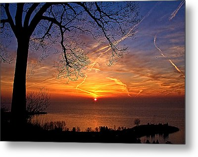 Welcome A New Day Metal Print by Theo Tan