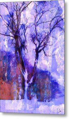 Winter Tree Metal Print by Ron Jones