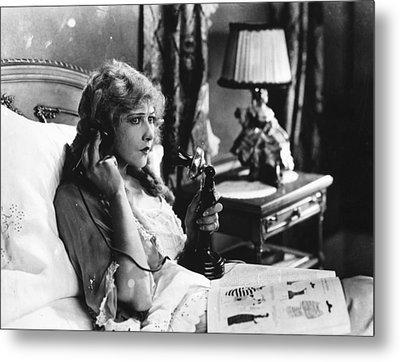 Film Still: Telephones Metal Print by Granger