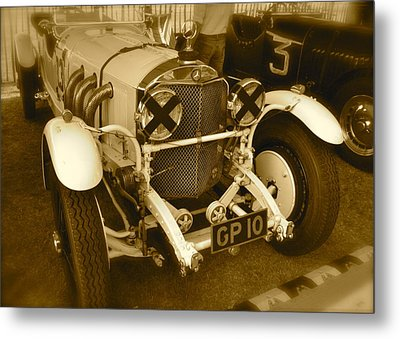 Metal Print featuring the photograph 1930 Mercedes Benz 710 Ss Rennsport by John Colley