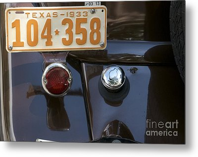 Metal Print featuring the photograph 1933 by Sherry Davis