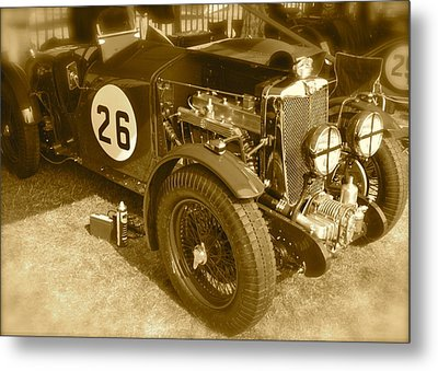Metal Print featuring the photograph 1934 Mg N-type by John Colley