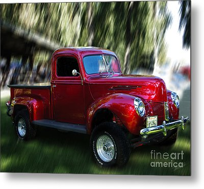1941 Ford Truck Metal Print by Peter Piatt
