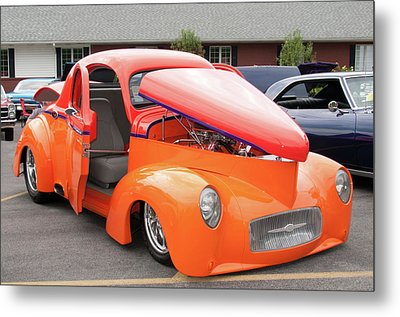 1941 Willys Coupe 7774 Metal Print by Guy Whiteley