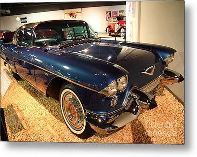 1958 Cadillac Eldorado Series 70 Brougham Metal Print by Wingsdomain Art and Photography