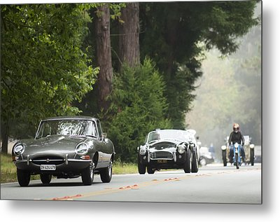 1961 Jaguar E-type 3.8 Litre Fixed Head Coupe Metal Print by Jill Reger