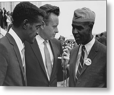 1963 Civil Rights March On Washington Metal Print