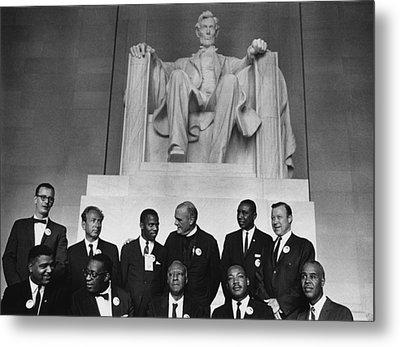 1963 March On Washington. Leaders Metal Print
