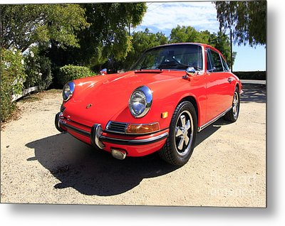 Metal Print featuring the photograph 1968 Porsche 911 by Denise Pohl