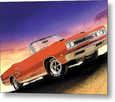 1969 Dodge Coronet 500 Rt Metal Print