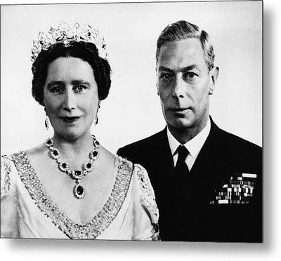 British Royalty. British Queen Metal Print by Everett