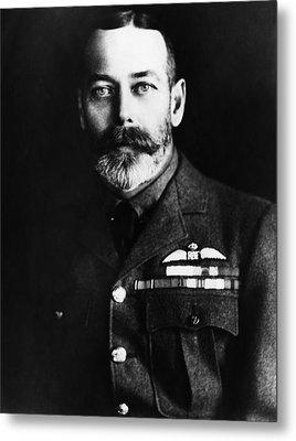 British Royalty. King George V Metal Print by Everett