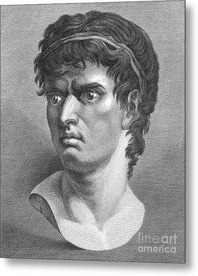 Brutus, Roman Politician Metal Print by Photo Researchers