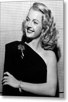 Dale Evans 1912-2001, American Actress Metal Print