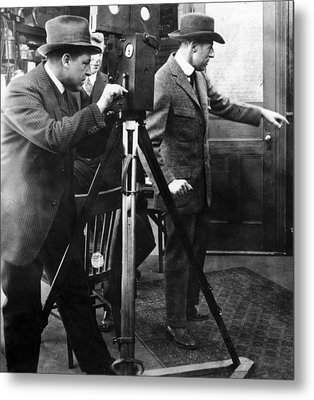 D.w. Griffith (1875-1948) Metal Print by Granger