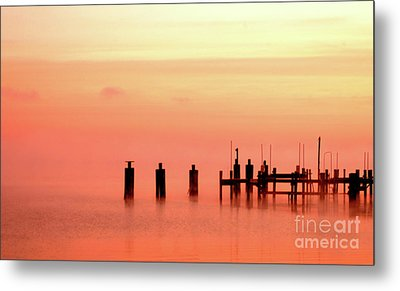 Metal Print featuring the photograph Eery Morn by Clayton Bruster