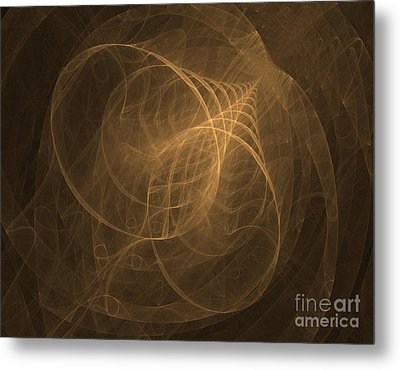 Fractal Image Metal Print by Ted Kinsman