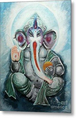 Ganesh  Metal Print by Sabrina Phillips